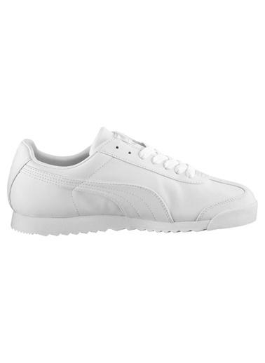 Puma Erkek Beyaz Roma Basic Sneakers 35357221 Beyaz